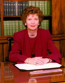 Photo:Former President of Ireland, Mary Robinson